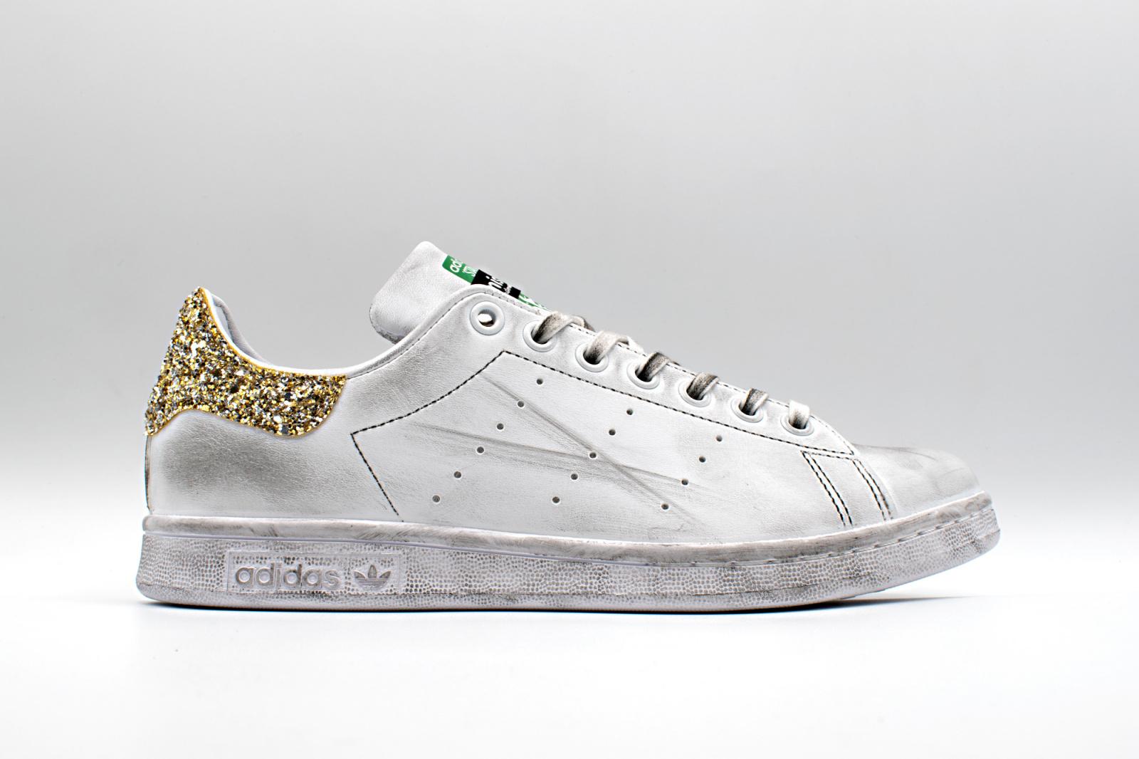 adidas donna scarpe stan smith glitter